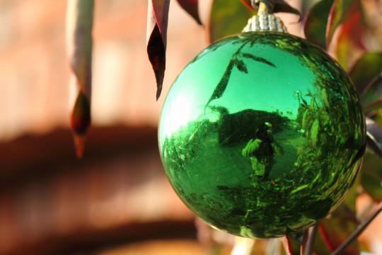グリーンのボール