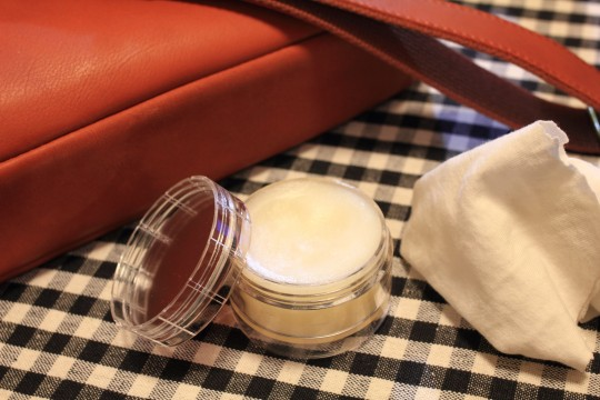革製品とミンクオイル