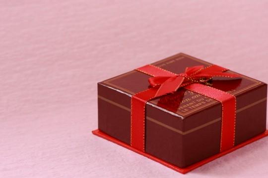 バレンタインのプレゼントボックス2