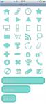 スマートフォンサイト ボタン/アイコンセット 4