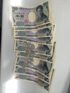 9800円