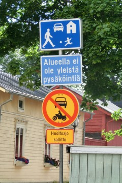 北欧の道路標識