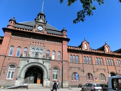 フィンランドの煉瓦の建物