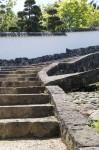 石造りの階段