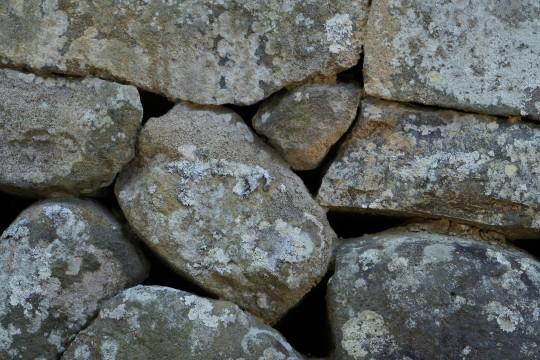 古びた石垣