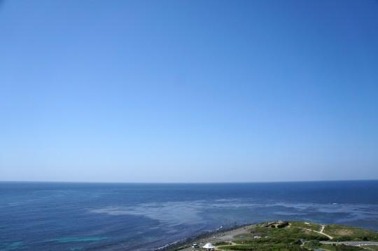 角島の灯台からの眺め