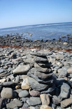 賽の河原の石積み