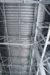 大きな建物の天井