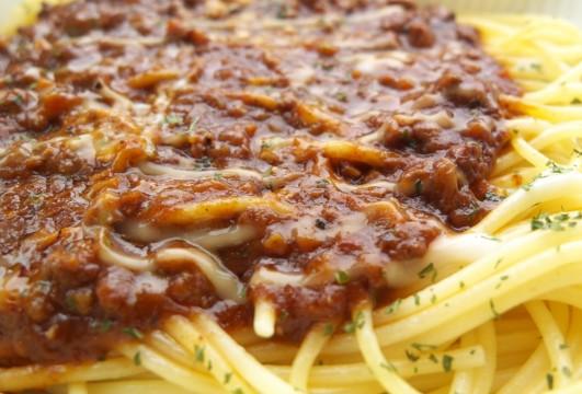 ミートソーススパゲティー2