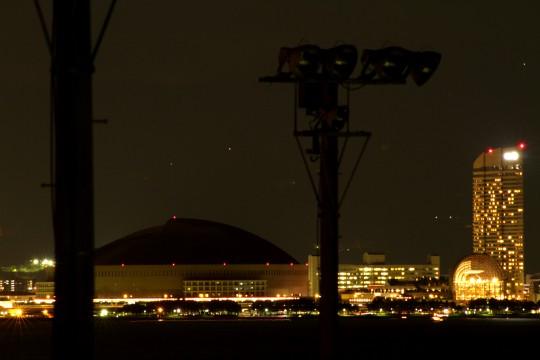 夜の福岡ドーム