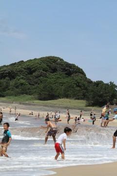 海水浴場2