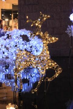 クリスマス 金のトナカイy