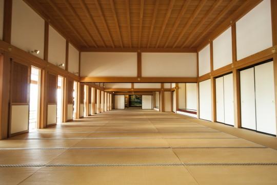 熊本城の大広間