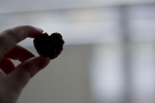 ハートのチョコレート