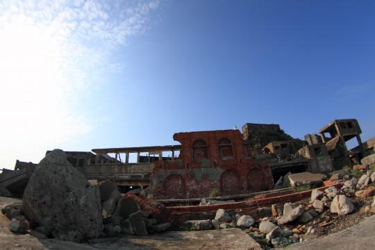 軍艦島の内部