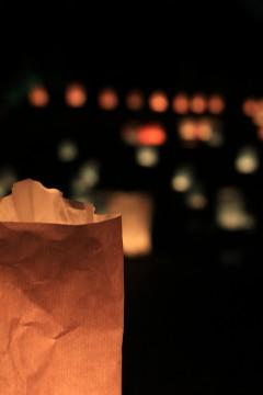 灯籠の明かり
