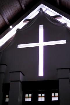 チャペルの十字架