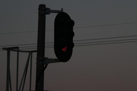 線路の信号機