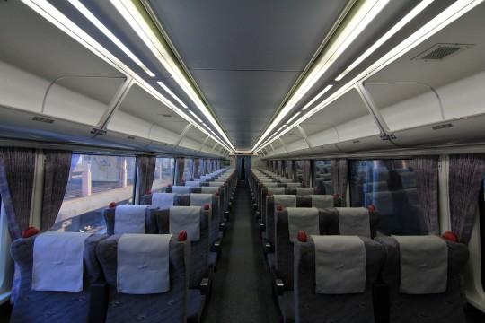 特急電車の座席