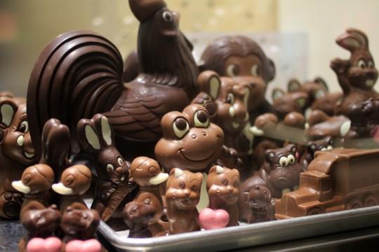 チョコレートの造形