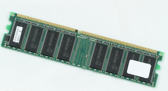パソコンのメモリ