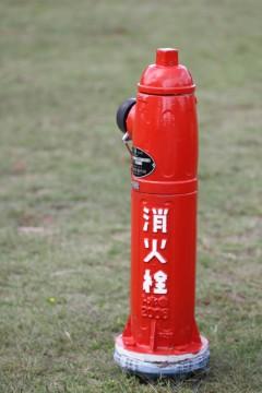 赤い消火栓
