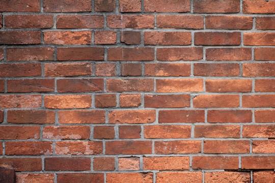 レンガ造りの壁