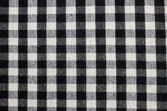 チェック柄の布