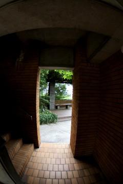 階段の入口