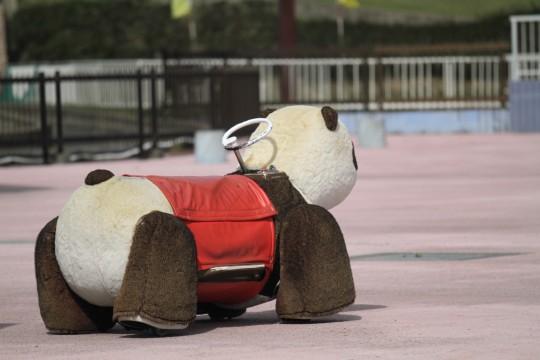 パンダの乗物