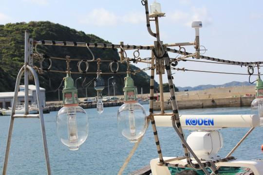 漁船の電球