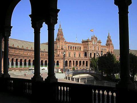 スペイン広場(セビリア)2