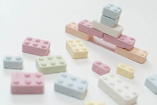 ブロックのお菓子