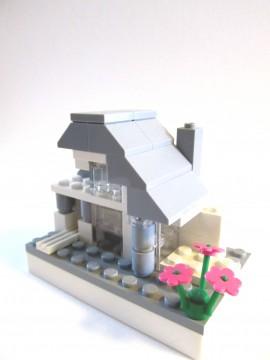 ブロックの家