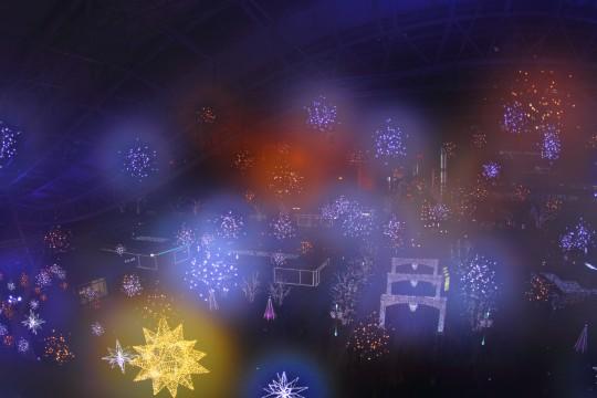 クリスマスイルミネーション3