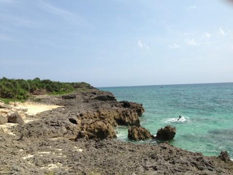 来間島の海岸