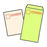 封筒(縦書き)