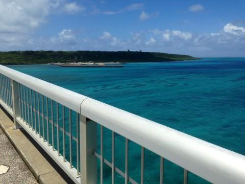 橋から見る海