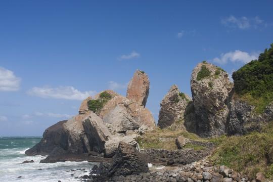 唐津の立神岩