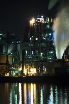 稼働中の工場
