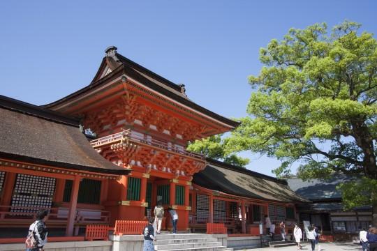 宇佐神宮の南楼門