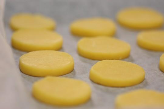 焼成前のクッキー