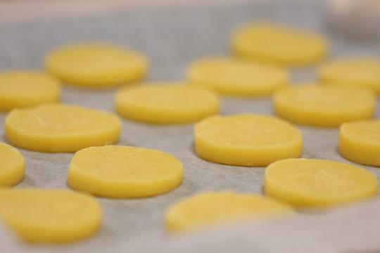 焼成前のクッキー3