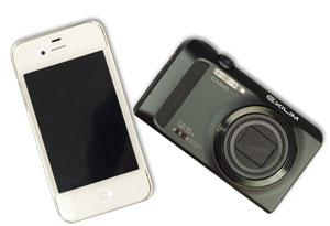 携帯とコンデジ