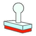 角型スタンプ