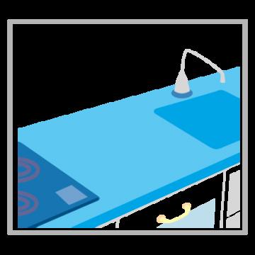 台所のイラスト