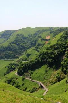 阿蘇の山道
