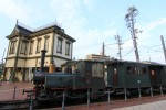 坊っちゃん列車と道後温泉駅