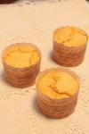 カップケーキ型ベイクドチーズケーキ