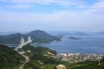 瀬戸内しまなみ海道の因島大橋